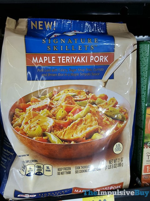 Birds Eye Maple Teriyaki Pork Signature Skillets