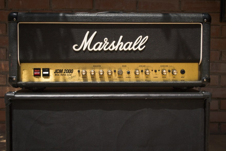 Marshall DSL100 - Front