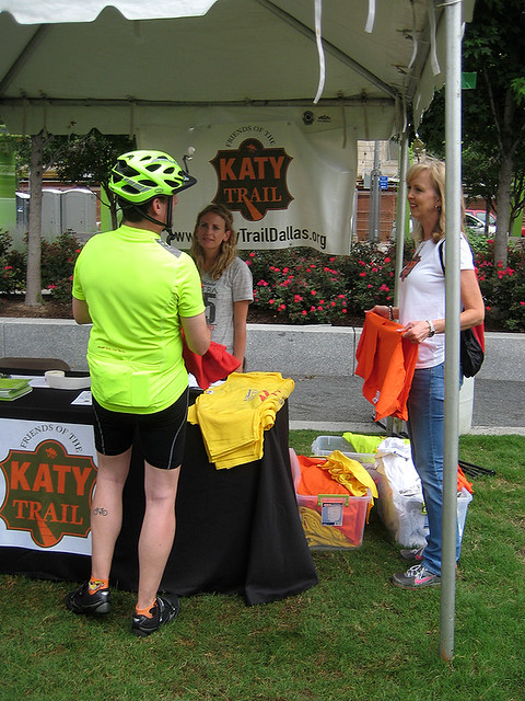 Friends of the Katy Trail Tent