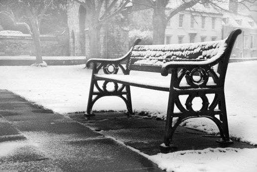 Lincoln Cathedral Bench, by Pixelglo Photography