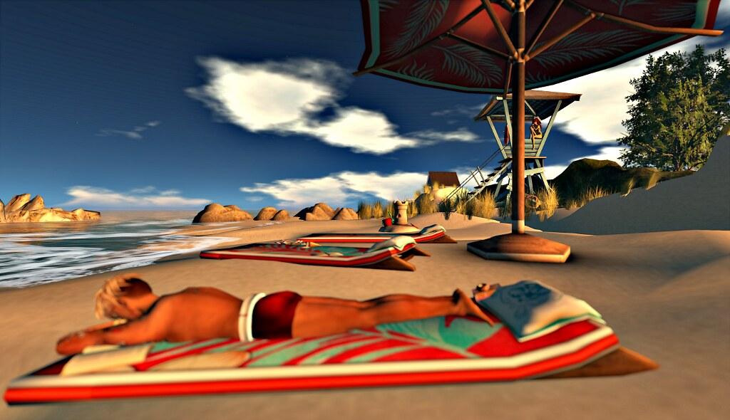 Rasc' at the beach