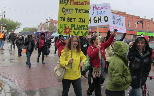March Against Monsanto - Edmonton