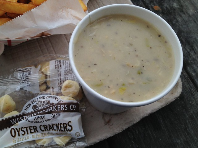Clam chowder - Barbara's Fishtrap