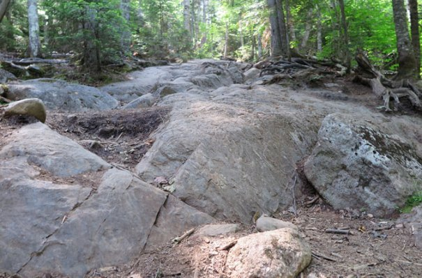Bald Mountain Trail Rocks