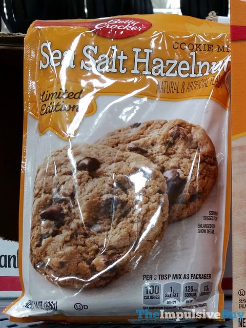 Betty Crocker Limited Edition Sea Salt Hazelnut Cookie Mix