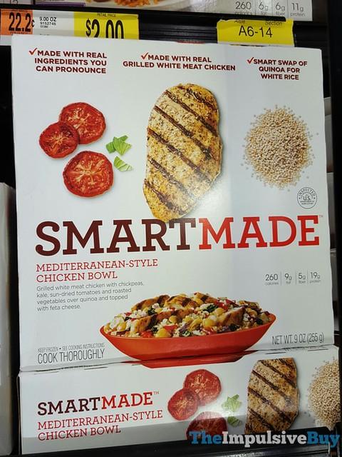 Smart Made Mediterranean-Style Chicken Bowl