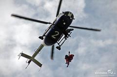 """Übung """"Luftgestützte Höhenrettung"""" 02.05.13"""