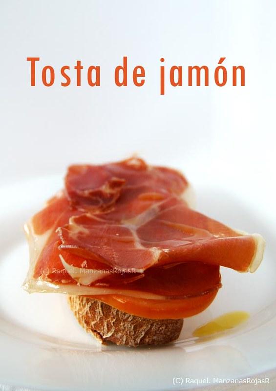 Tosta de jamón