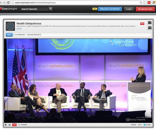 Health Datapalooza: Challengepalooza Panel