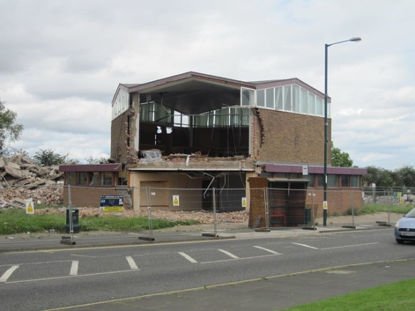 Eston Town Hall, Demolition