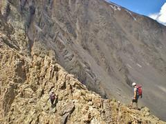 CMC Climbers Ascending Ellingwood Ridge