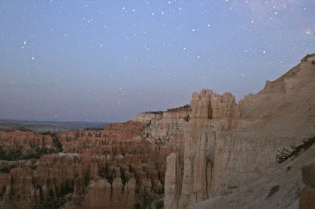 Stargazing at Bryce Canyon