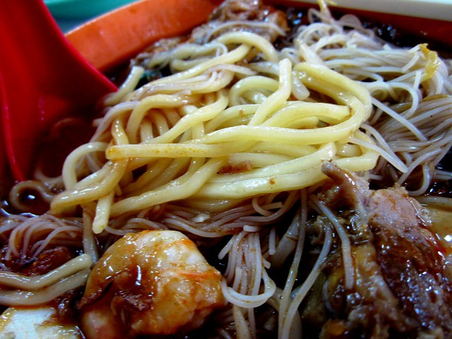 and yellow noodles too
