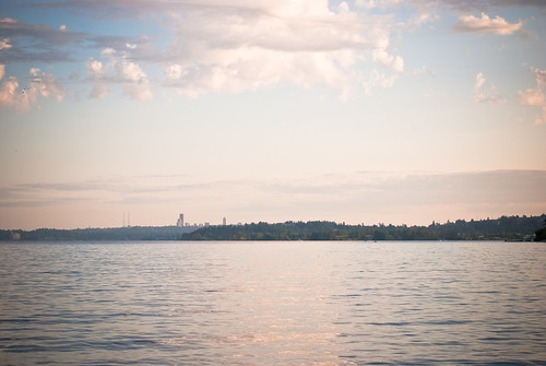 Seattle from across the lake