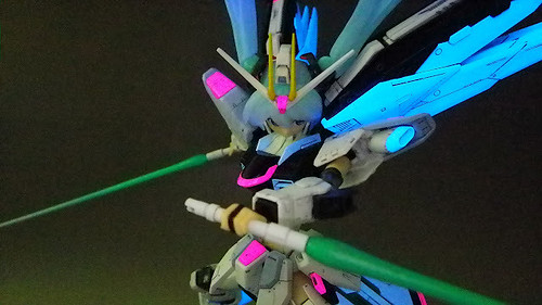 MG Girl Freedom Gundam - Custom Build Modeled by nm17090922 (2)