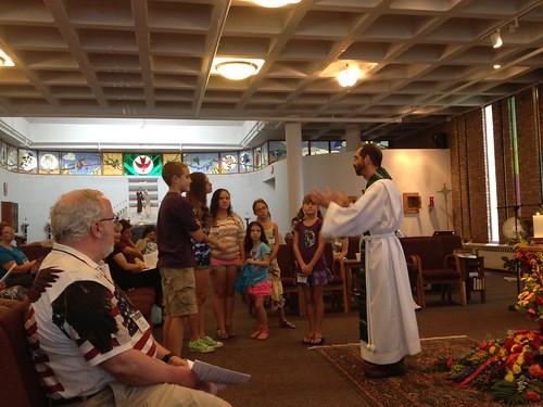 St Nick's Kids Sent To Hear The Children's Gospel by St Nicholas Episcopal