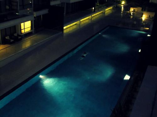 evening swims