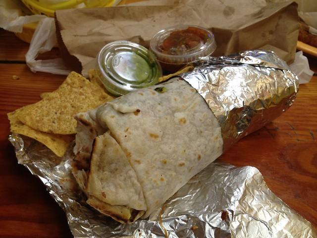 Super burrito al pastor - Taqueria Cancun