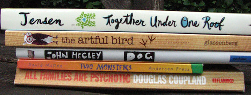 more spine poetry