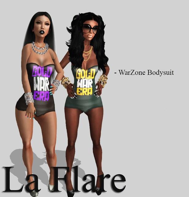 :.:.: : La Flare - WarZone BodySuit