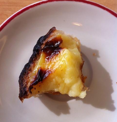 Portuguese custard tart (pastel de nata)