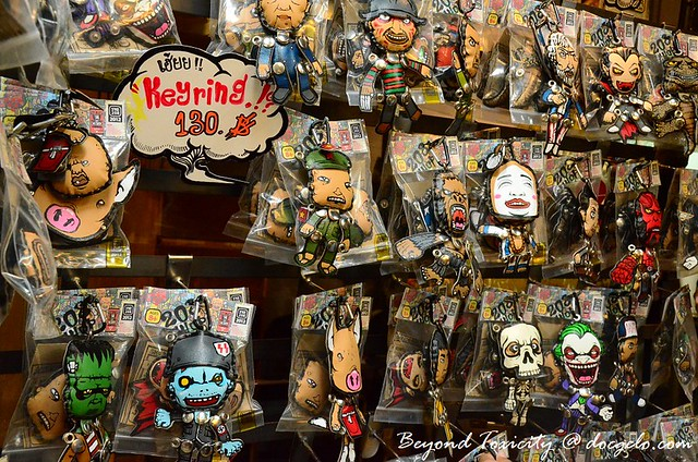 adorable keychains from chatuchak