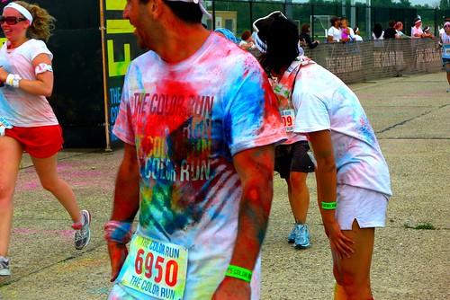 NYC Color Run 2012