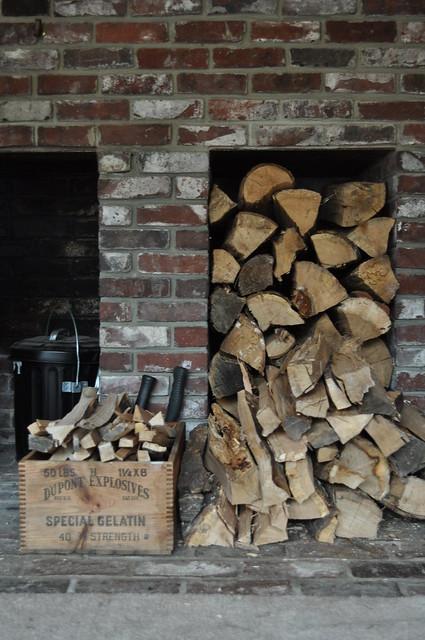 Wood Stove Area