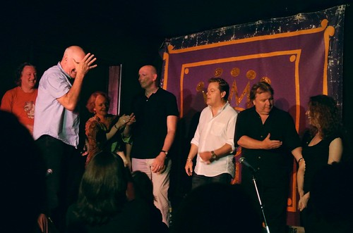 Comedy Improv at The Hob - 16th July - Day 47