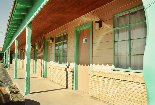 Palomino Motel, Route 66, Tucumcari NM. Photo copyright Jen Baker/Liberty Images; all rights reserved, though pinning directly from this page is okay.