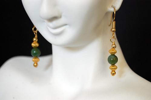 Jade Pagoda Earrings