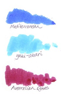 Summer Inks in Three Colors