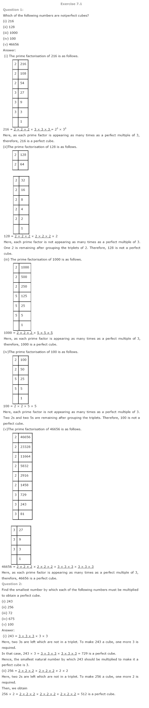 small resolution of NCERT Solutions for Class 8 Maths Chapter 7 Cubes and Cube Roots   AglaSem  Schools
