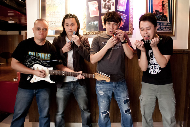 Rivermaya Band Portrait