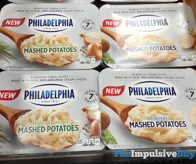 Philadelphia Mashed Potatoes (Original and Chive & Onion)