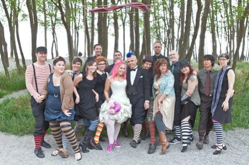 Striped Sock Crew