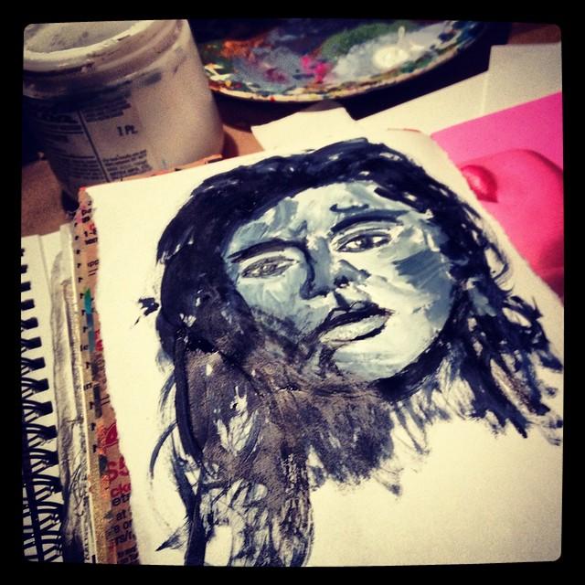 Art journalling