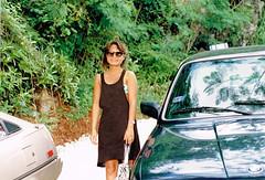Heading to the beach. St. Thomas