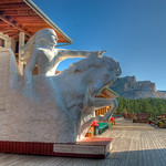 Scale Model of Crazy Horse - HDR