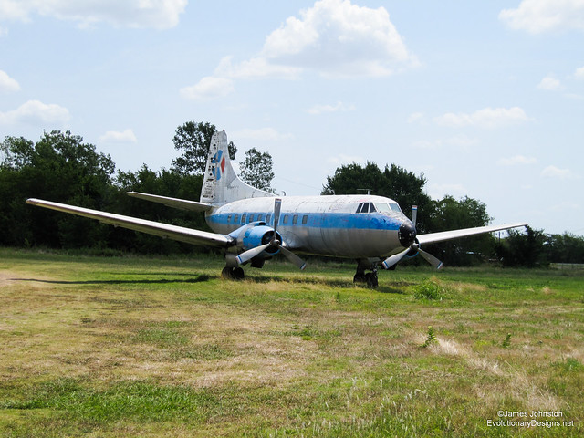 Abandoned 404 Martin Passenger Plane Found Near Paris, TX