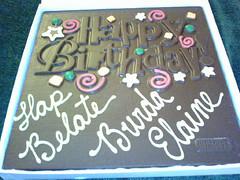 happy bday chocolate