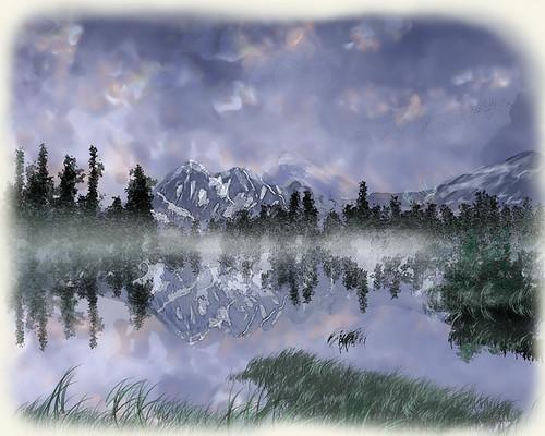 Sunrise Miracle ~ Digital Painting