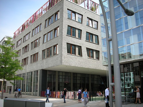 A new elementary school in HafenCity in Hamburg, Germany