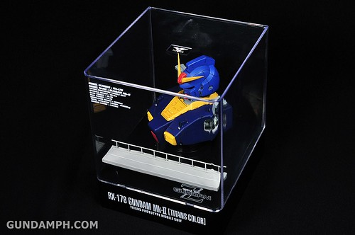 Banpresto RX-178 Mk-II TITANS Head (Bust) Display (17)