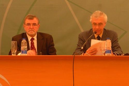 Presentacion Obras Completas Castilla del Pino en Delegacion Cultura. José Manuel Sánchez Ron, profesor de Física, divulgador y académico de la Real