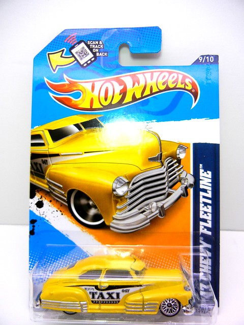 hot wheels '47  chevy fleetline taxi  (1)