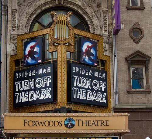 Spiderman: Turn Off the Dark @ Foxwoods Theatre on Broadway