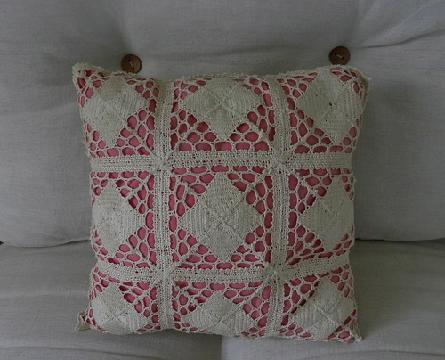 The thrifty cushion
