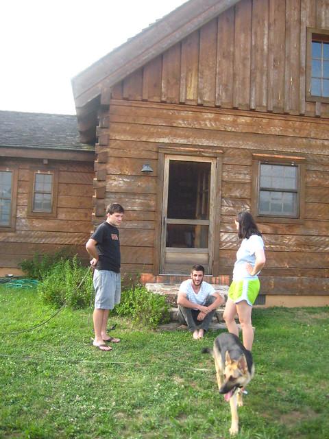 """Visiting Andrew and Tara at """"Montana"""""""