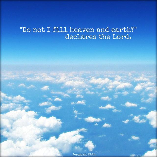 Jeremiah 23:24